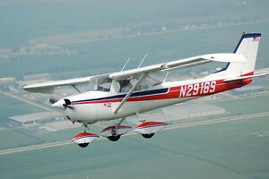 Cessna 150 to get a license in
