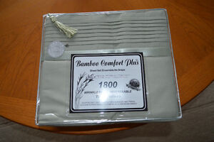 Bamboo Twin Size Sheets - NEW - Two sets!