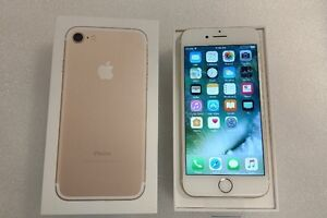iPhone 7 Gold 32GB Factory Unlocked 100% Mint Condition