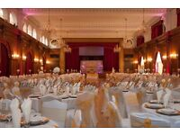 wedding plate hire cutlery rental 30p gold table linen hire reception centrepiece hire £5 2017 sale