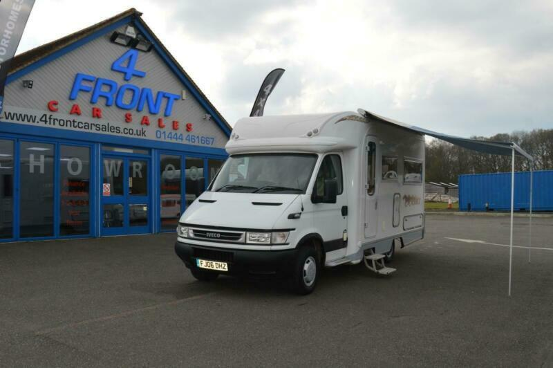 c3f829b933 2006 AUTOCRUISE COLT MOTORHOME IVECO DIESEL AUTOMATIC GEARBOX 2 BERTH 2  TRAVELLI