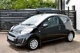 2013 CITROEN C1 VTR CALDERA BLACK FCSH ONLY £99 PER MONTH WITH £0 DEPOSIT!