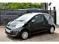 2013 CITROEN C1 VTR CALDERA BLACK FCSH ONLY £99 PER MONTH WITH £0 DEPOSIT!