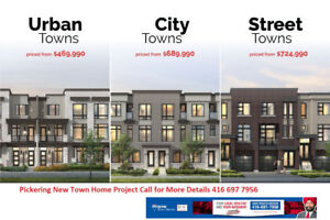 Townhouse Pre-Construction for Sale in Pickering