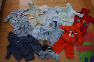 Lot of 0-6 Month Size Clothing