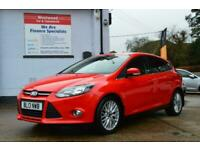2013 Ford Focus 1.0 SCTi EcoBoost Zetec 5dr Petrol red Manual