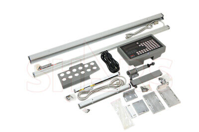 Shars 0.0002 2 Axis Digital Dro Readout Lathe Package Kit Glass Scale
