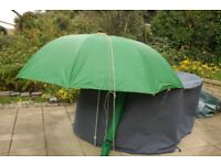 Large fishing umbrella