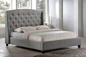 Huge selection of Canadian made upholstered beds and headboards