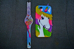 Disney watch and matching cell phone case