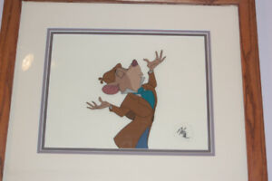 "Disney Great Mouse Detective ""Basil"" Production Cel 1986"