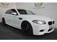 BMW M5 4.4 ( 560bhp ) M DCT WHITE 2014