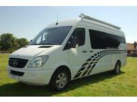 Mercedes-Benz Sprinter 313 CDI Motorsport, Race, Mountain Biking Motorhome