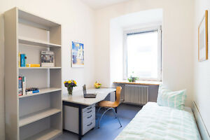 Female co-op student looking for a quiet room