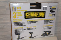 ALL IN ONE KIT CHAMPION 18V DRILL - IMPACT DRIVER -CIRCULAR SAW