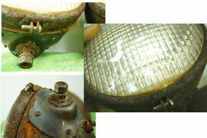 Vintage Tractor Lights - Rustic Farm Goods - Pair of Rusty Tract London Ontario image 2