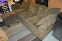 Couch Chair Ottoman Combination