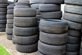 Part worn tyres and space savers for sale !