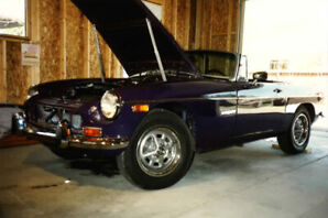 1974 MGB 2 door roadster convertible