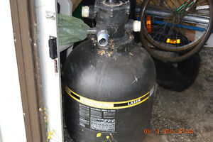 Pool pump and folter