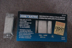 Electric Light  Switches (Decorative)