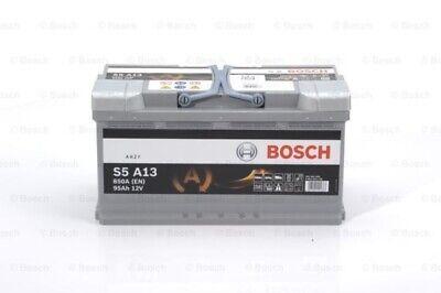BOSCH Starterbatterie S5A für Fahrzeuge mit Start-Stopp-Funktion 0 092 S5A 130