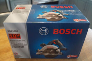 Scie Circulaire 18v Bosch --NEUF -No battery No charger--