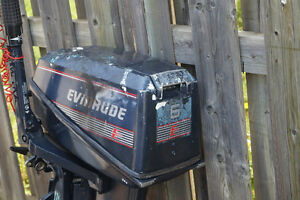 Used 1990 Evinrude 6 hp outboard