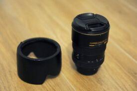 Nikon 17 - 55 mm, 2.8 f, ED, DX Lens, very good condition