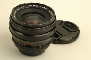 Sigma Xq Filtermatic 24mm f2.8 M42 works with Canon EOS