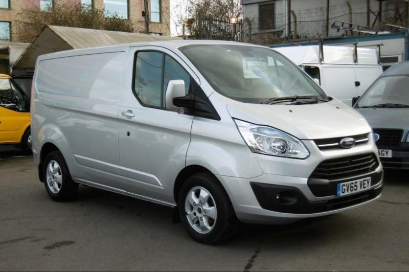 8d7c6c7daa9684 2016 FORD TRANSIT CUSTOM 270 125 LIMITED L1H1 SWB DIESEL VAN IN SILVER WITH  ONLY