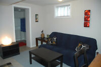 Fully furnished and clean apartment close to TTC bills inclusive