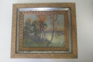 Canadian listed artist painting Herbert William Wagner