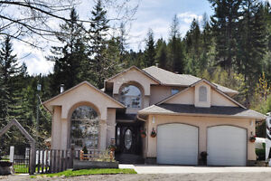 Acreage with Executive Home in Lumby B.C