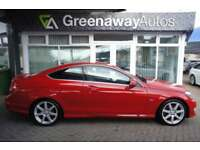 2012 MERCEDES C-CLASS C180 BLUEEFFICIENCY AMG SPORT STUNNING EXAMPLE COUPE PETR