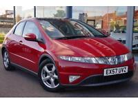2007 HONDA CIVIC 1.8 i VTEC ES LOW MILES, PAN ROOF, ALLOYS and CRUISE
