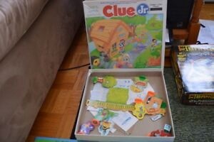 Clue Jr. (junior) et Monopoly Toy Story (Junior)