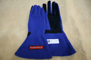 Race Car, go kart Drag racing Pyrotect 3.3/1 driving gloves nhra