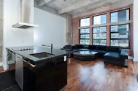 Furnished Loft:Old Montreal/Downtown