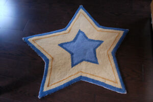 Star shaped mat/rug for sale