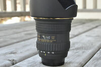 Tokina AT-X Pro SD 12-24mm F4 (IF) DX Wide-Angle Zoom Lens Nikon