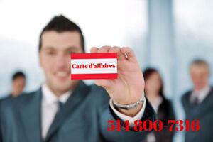 Conception de carte d'affaires Logo - Bussness Cads, Web designm