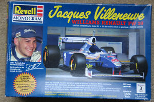 Jacques Villeneuve Revell Monogram Williams Renault FW 19 kit