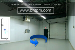 1,200 S.F. Industrial Drive-in Unit Available!