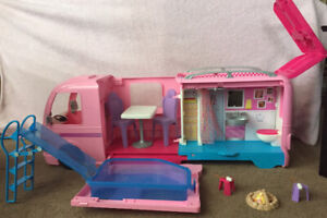 Barbie DreamCamper Playset with Pool