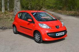 2008 PEUGEOT 107 1.0 Urban 3dr only 27,000 MILES FPSH £20 ROAD TAX