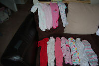 Girls 0-3 month Clothing Lot