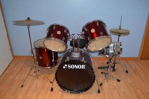 Drum Sonor rouge