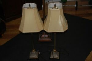 Table lamps and Floor Lamp