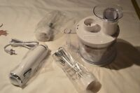 Nine Piece Hand Blender Set New in Box